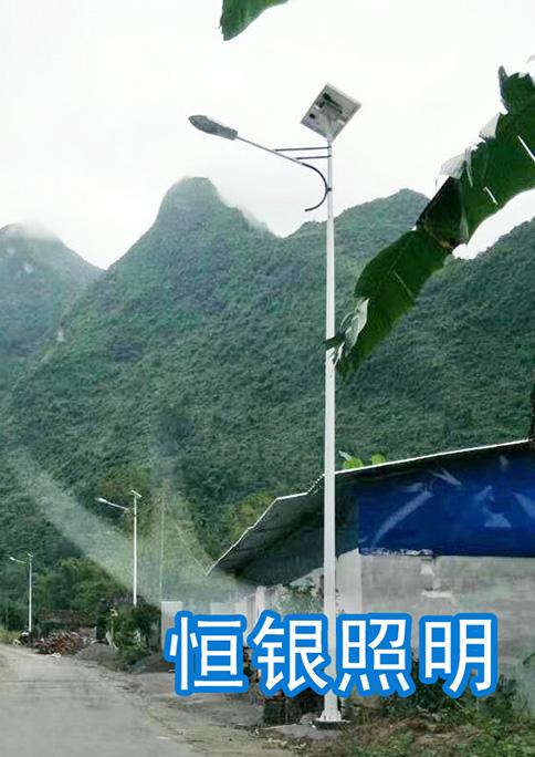 广西来宾村道