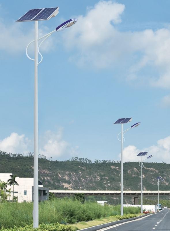 太阳能智慧路灯的工作原理