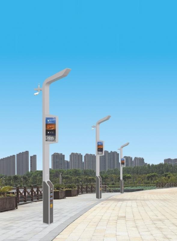 led智慧路灯是聪慧城市关键的突破口