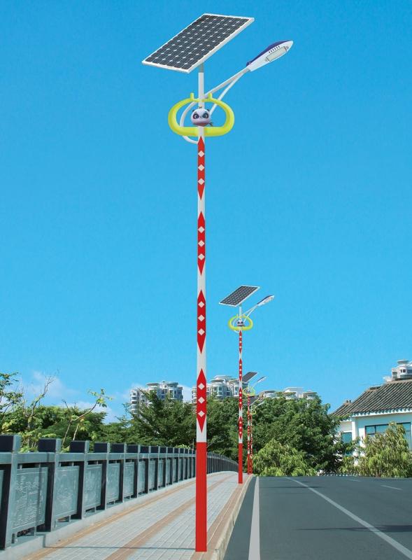 智慧太阳能路灯038