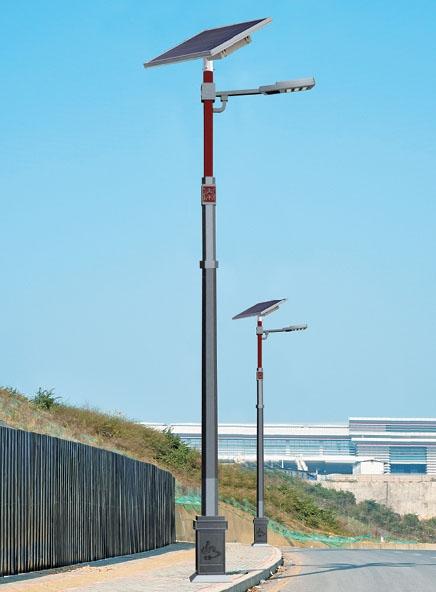 智慧太阳能路灯055