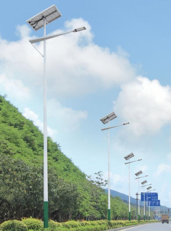 智慧太阳能路灯110